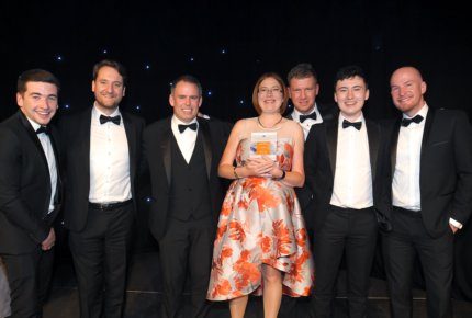 One week after receiving a RoSPA Gold accolade in recognition of our health and safety best practice, we have been crowned 'SME of the Year' at the 2018 West Midlands Celebrating Construction Awards.