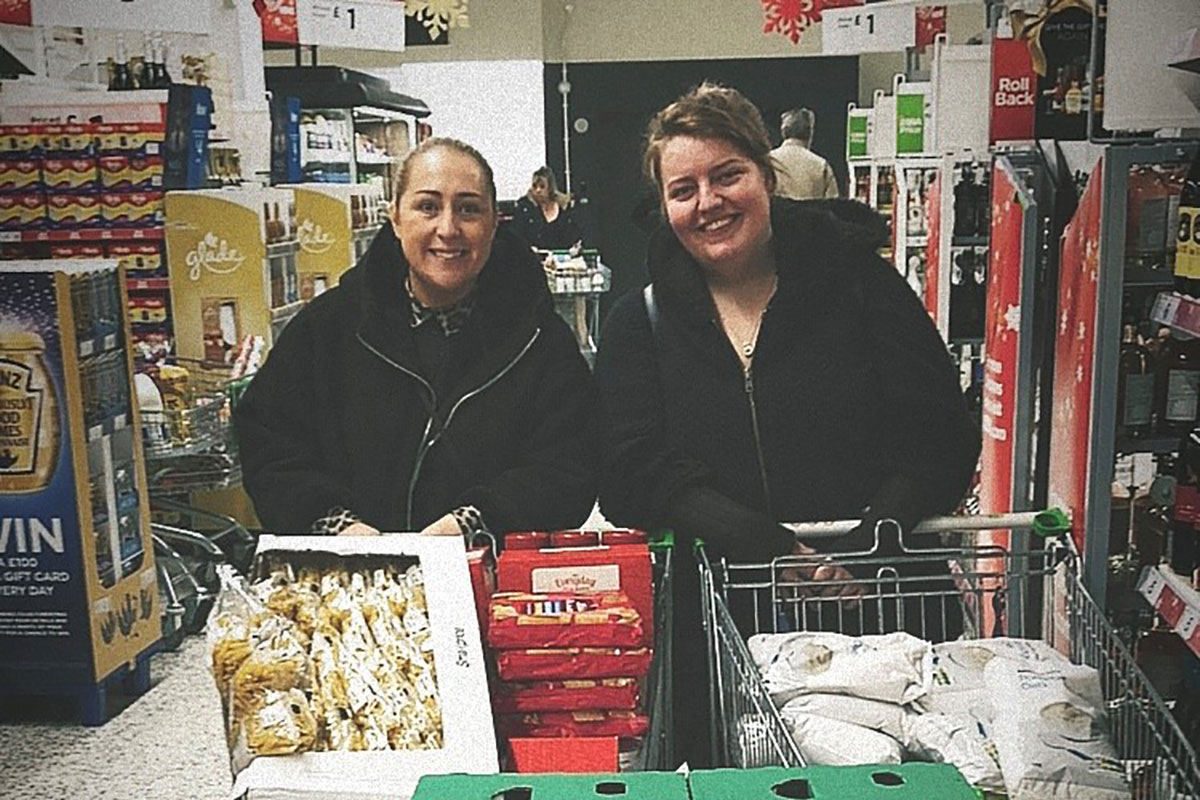 Throughout December, staff collected food donations for Bethany Community Emergency Foodbank in an effort to help them stay stocked up during the festive period.