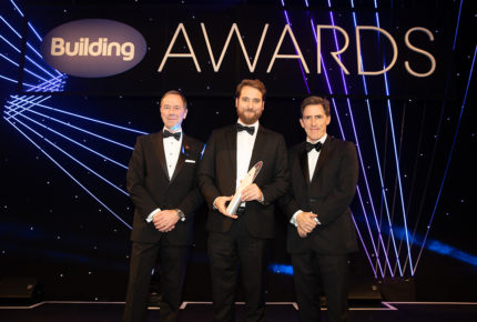 We are celebrating after winning the 'Specialist Contractor of the Year' accolade at the prestigious 2018 Building Awards.